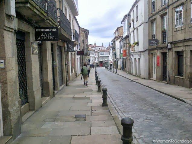 foto de calle de santiago