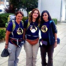 Tres peregrinas