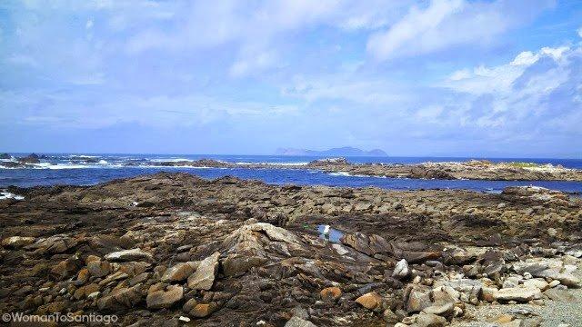 foto de costa salvaje