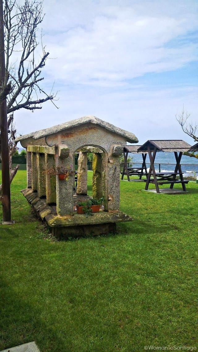 foto de sitio para comer en oia