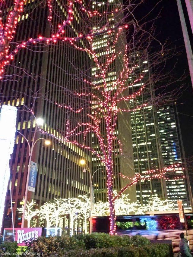 foto de luces de nueva york