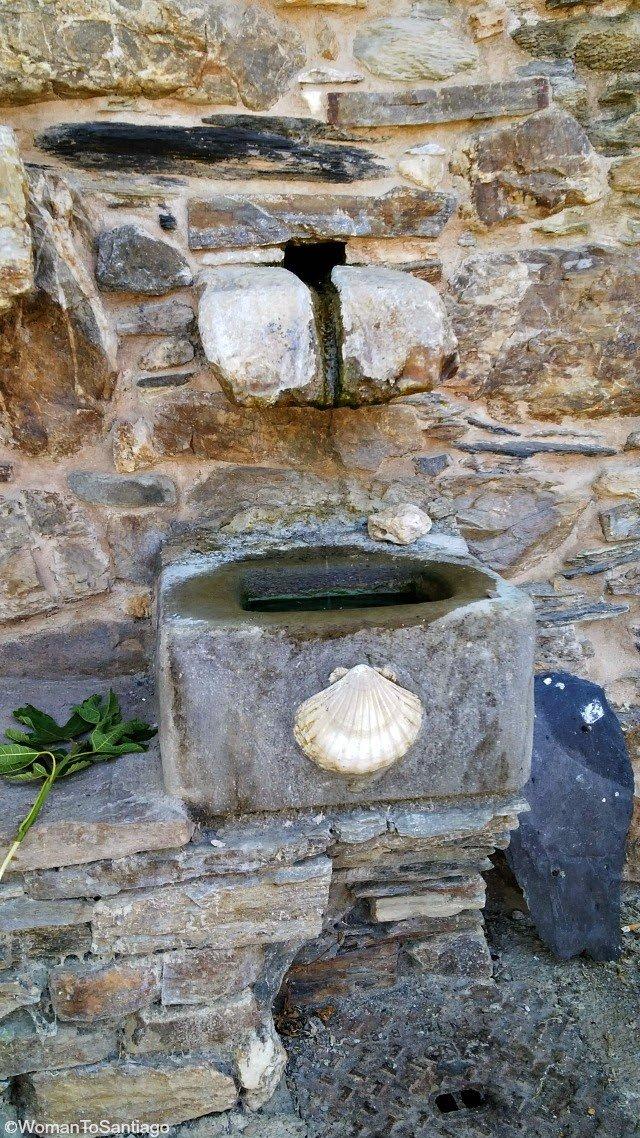 foto de fuentes en el camino de santiago
