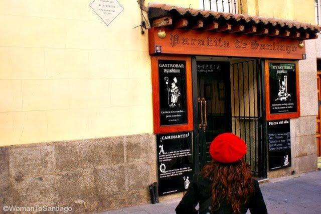 foto del camino de santiago en madrid
