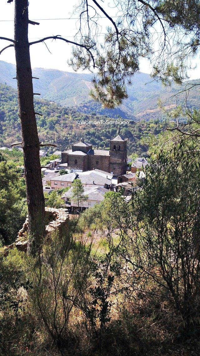 foto de la iglesia de montefurado