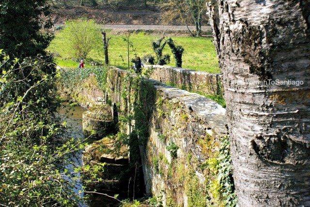 foto del puente de sarria