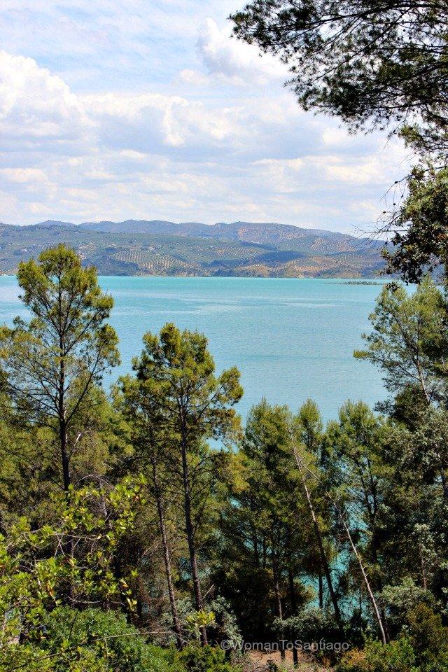 camino-mozarabe-cordoba-lago-iznajar-vista