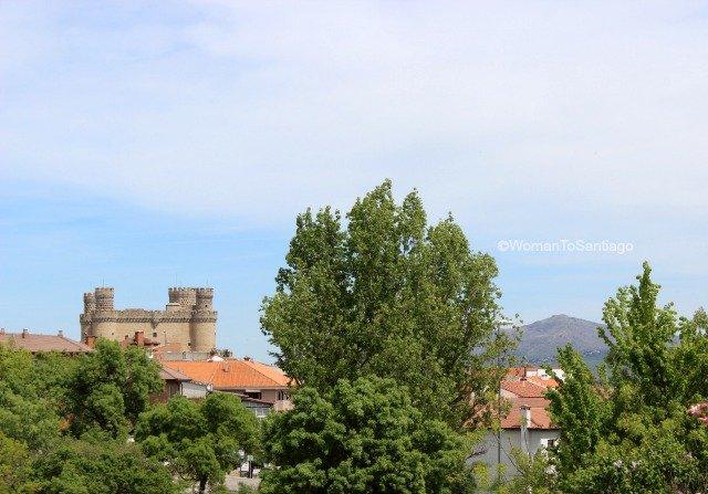 foto del castillo de manzanares