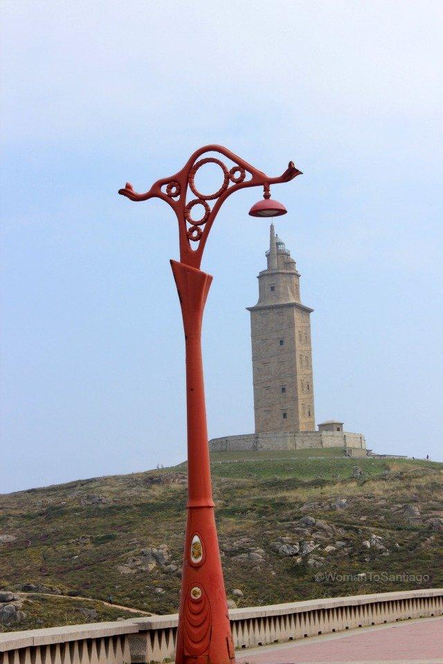torre-hercules-camino-de-santiago-ingles