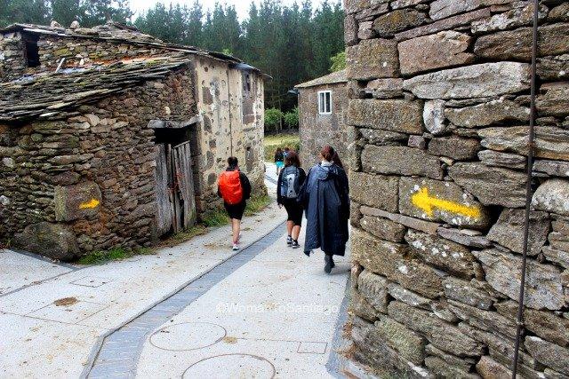 foto de casas de piedra