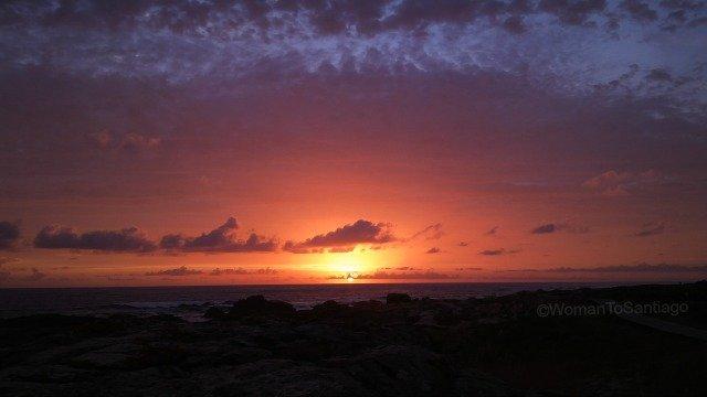 foto de puestas de sol en el camino de santiago
