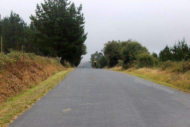 foto de peregrino en el camino