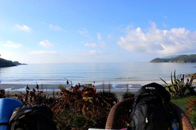 foto de la playa de estorde