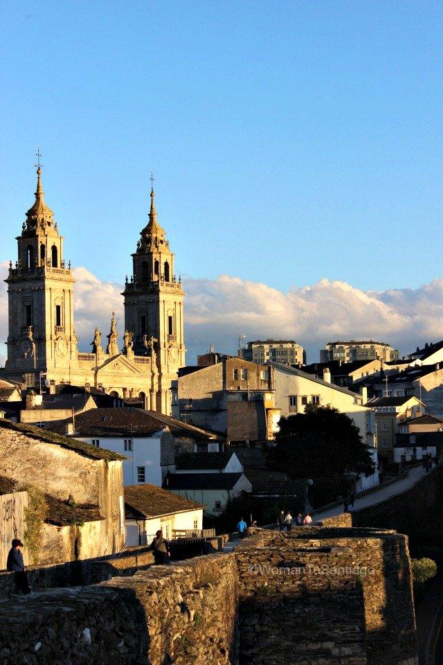 foto de las vistas de la catedral