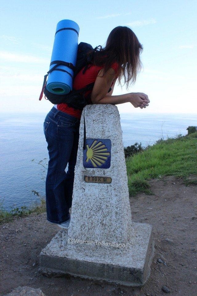 Resultado de imagen de Sola y mujer en el Camino de Santiago