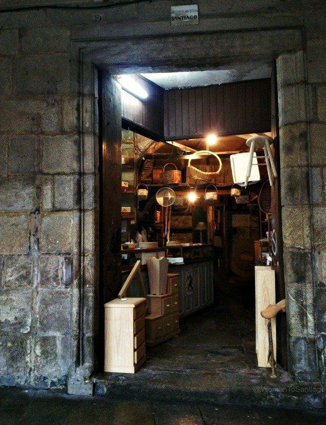 foto de local de artesania en santiago