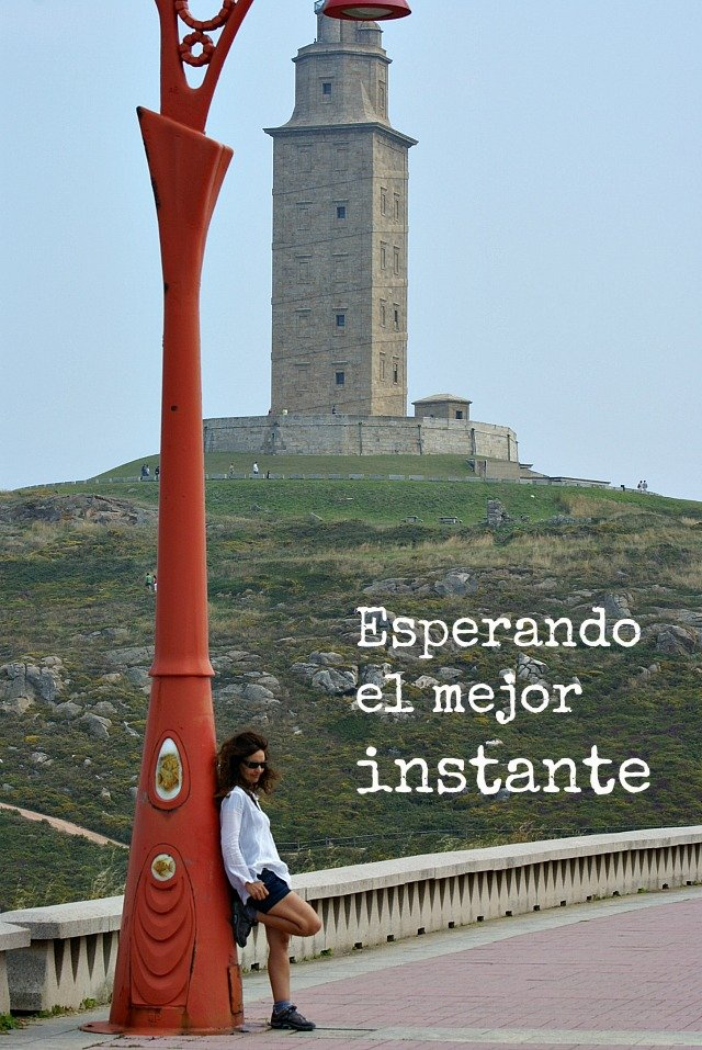 foto de la torre de hercules