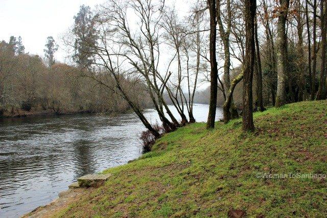 foto del rio ulla
