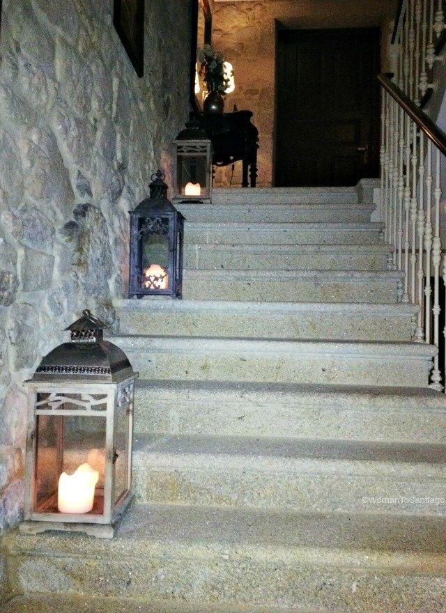 foto de las escaleras de piedra