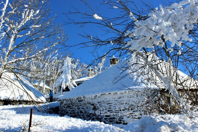 foto del cebreiro con nieve
