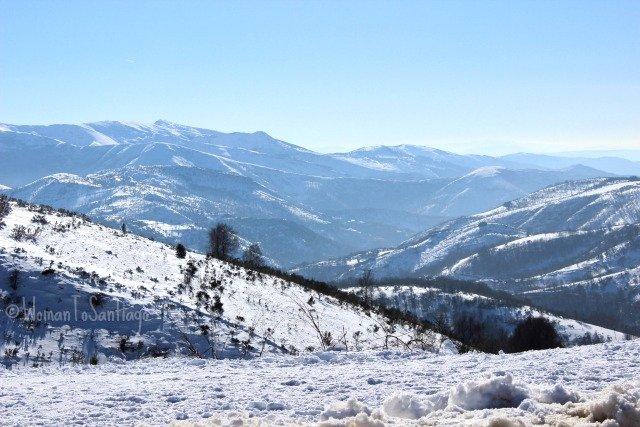 foto de montes nevados