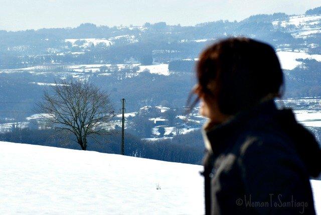 foto de womantosantiago en la nieve