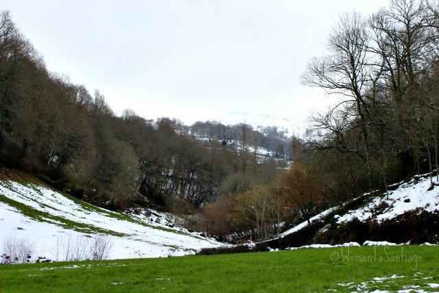 foto del valle nevado
