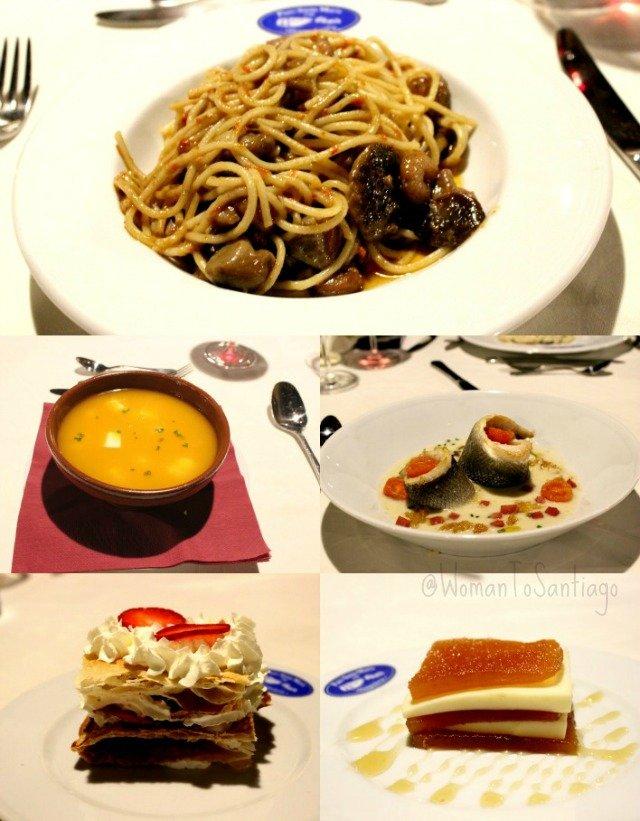 foto del menú del pazo