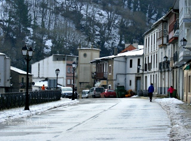 foto de samos camino de santiago frances