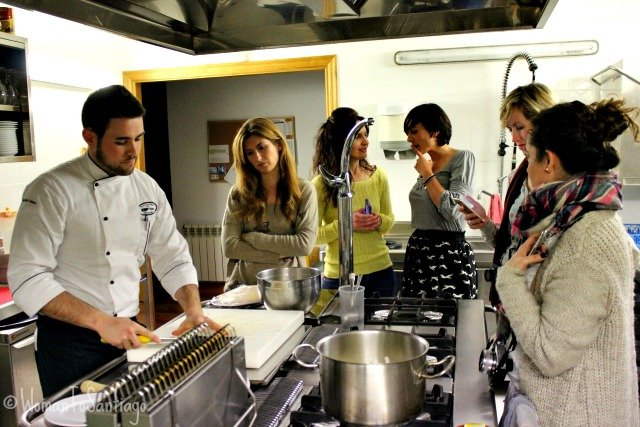 foto del showcooking
