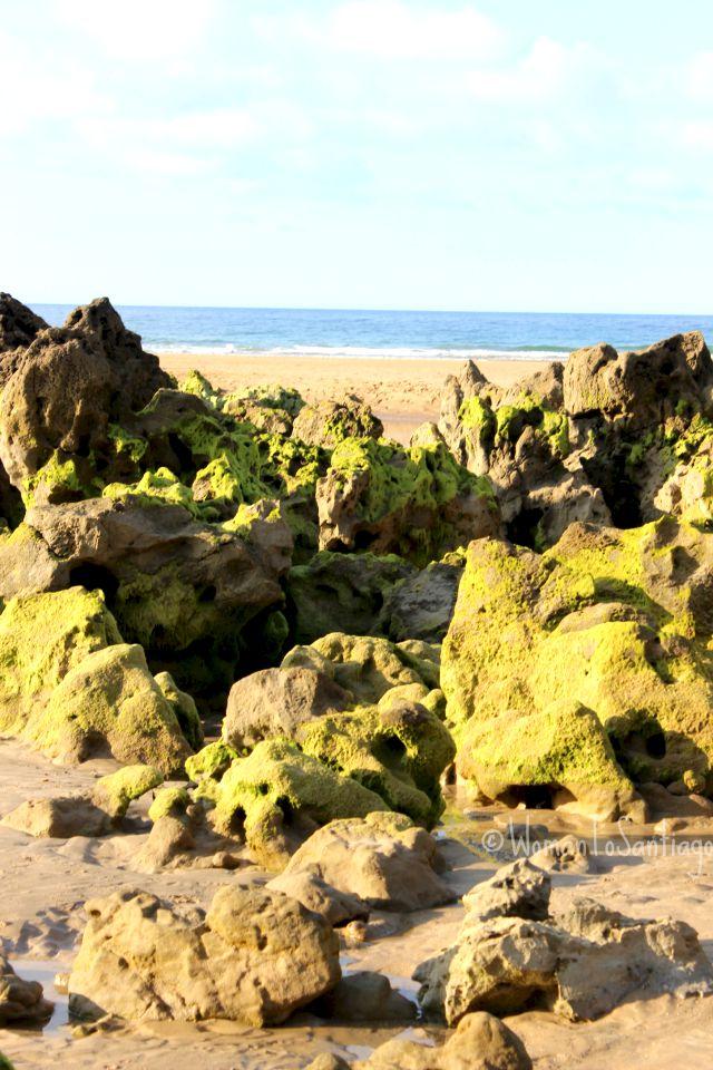 foto rocas de playa