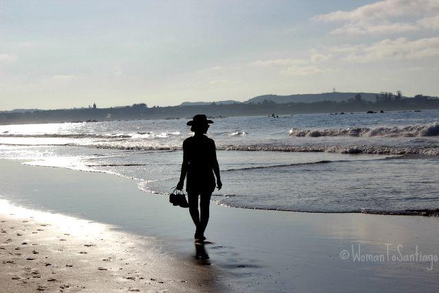 foto playa trengandin noja