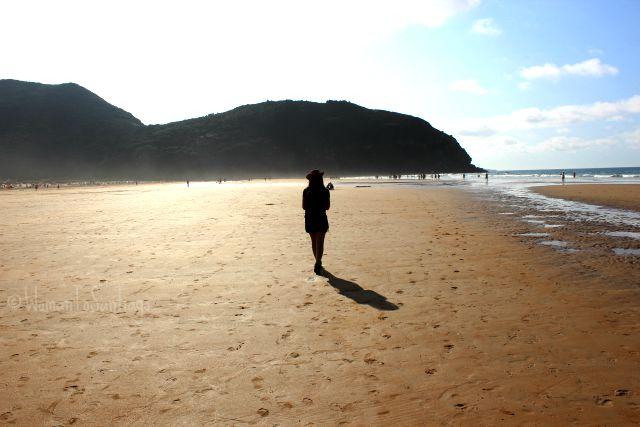 foto playa de berria womantosantiago