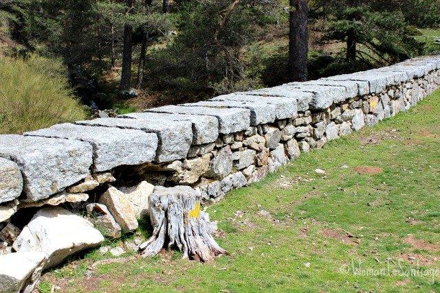 foto del puente en fuenfria