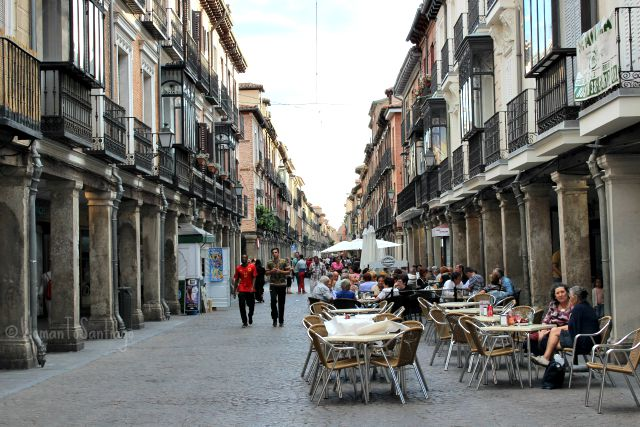 foto calle mayor de alcala