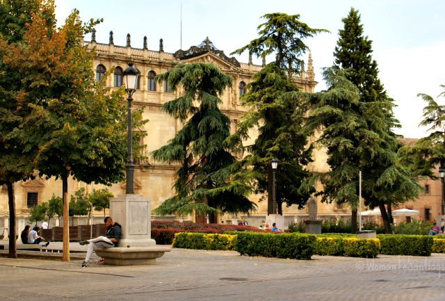 foto plaza san diego de alcala