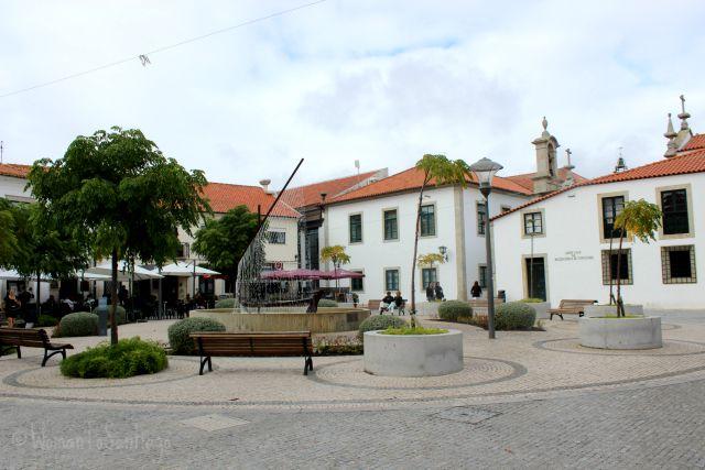 foto de la plaza de esposende
