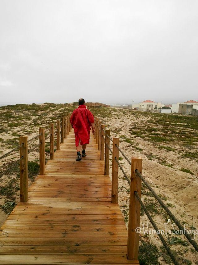 foto dunas camino portugues
