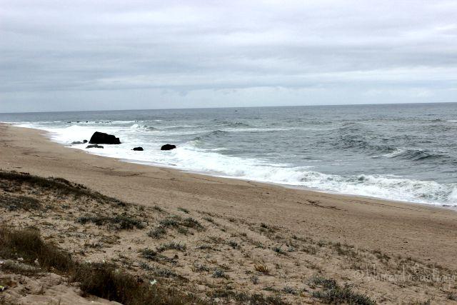 foto del oceano en portugal