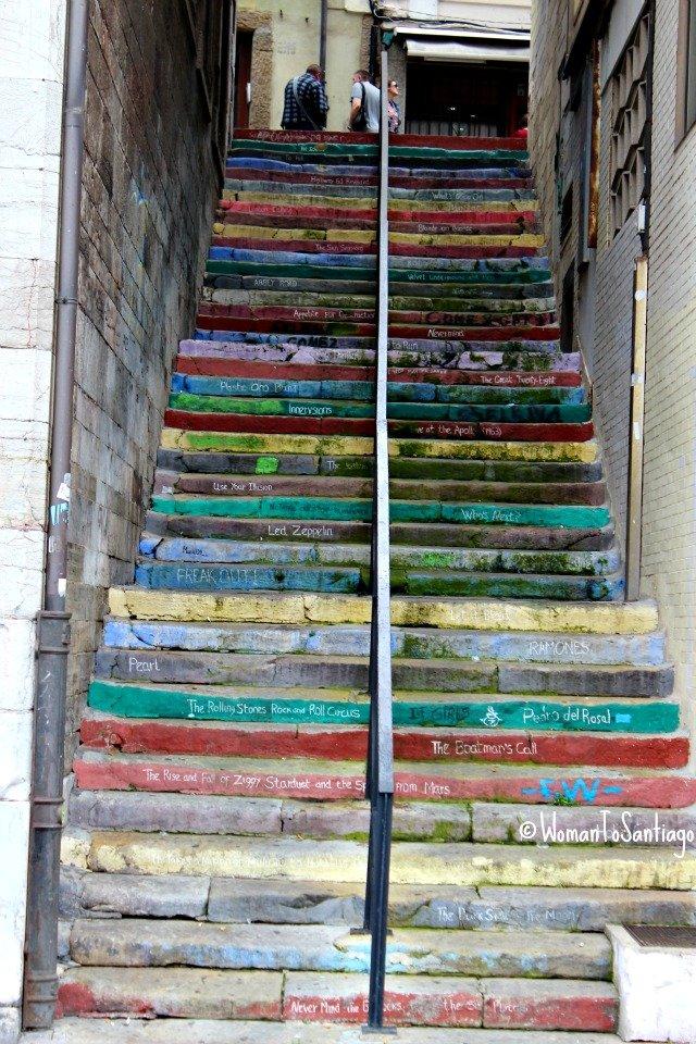 foto de escaleras