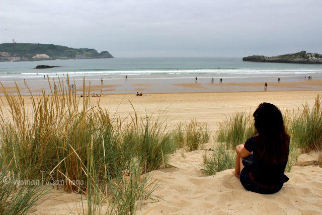 foto dunas playa de ris
