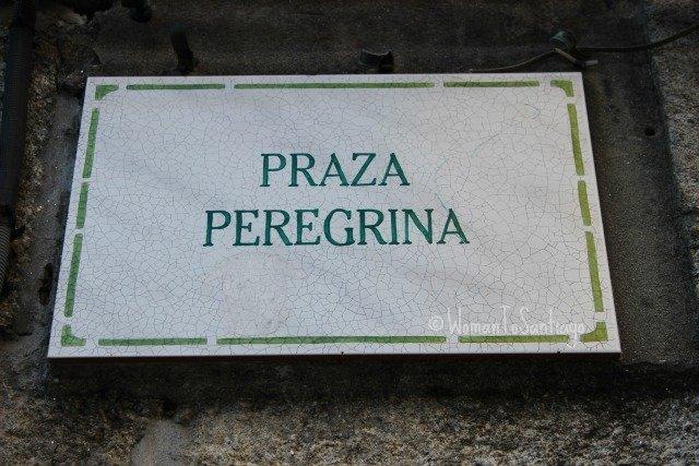 foto placa plaza la peregrina