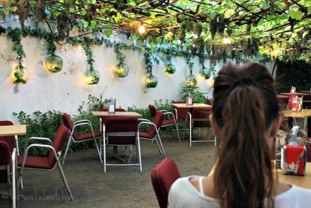 foto de patio de taberna