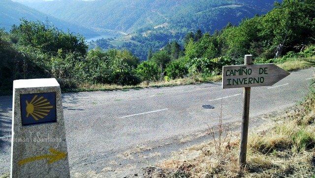 Foto de flechas del camino