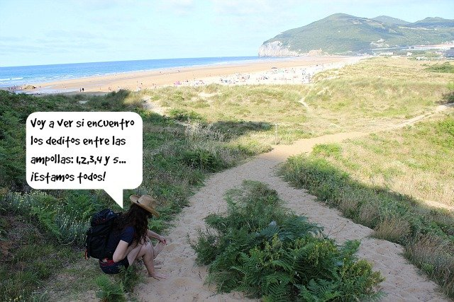 los-deditos-en-la-playa