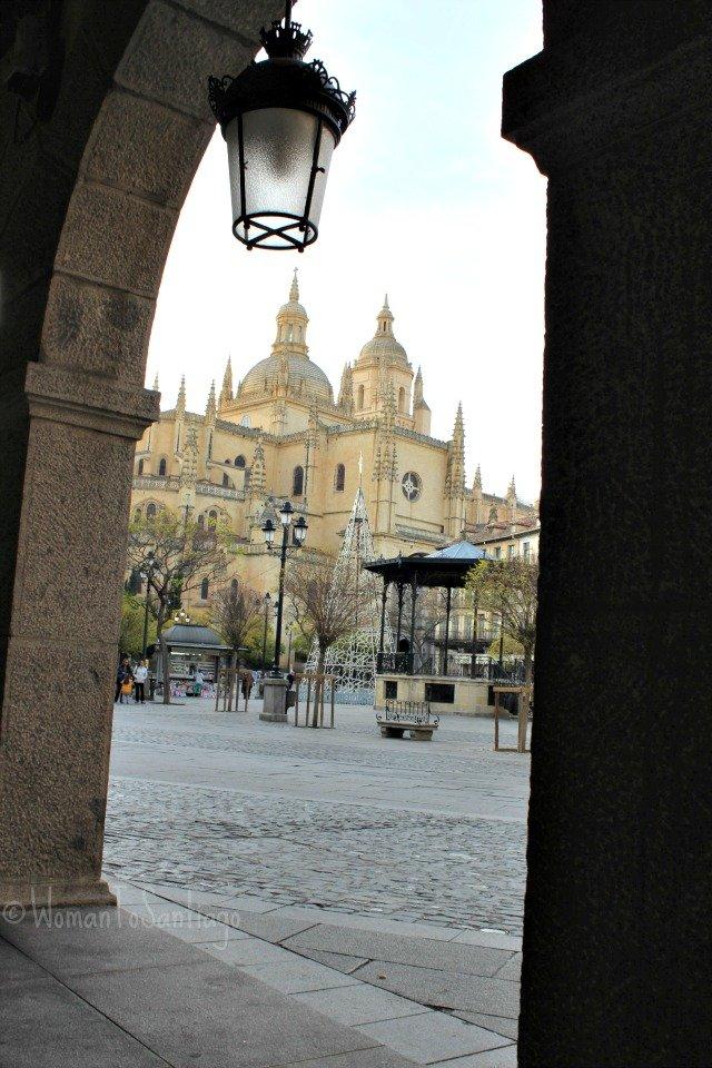 foto catedral de segovia