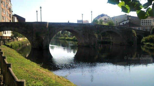 foto del puente medieval
