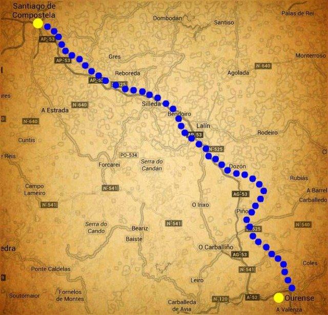 Camino Sanabrés: Desde Ourense a Santiago de Compostela