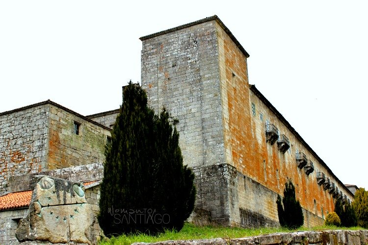 foto residencia del monasterio de oseira