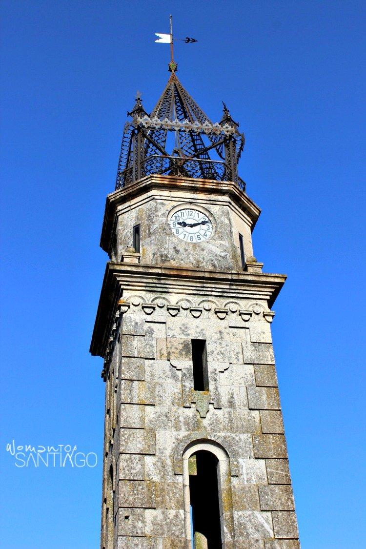 foto torre del reloj de cea