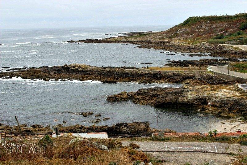 foto del camino portugués de la costa desde a guarda